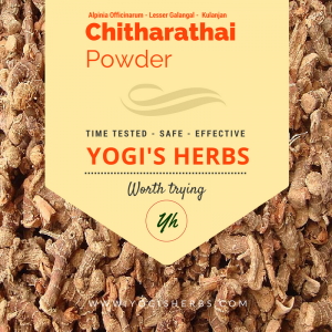 Chitharathai Powder ( Alpinia officinarum / Kulinjan ) - Fresh & Pure 2