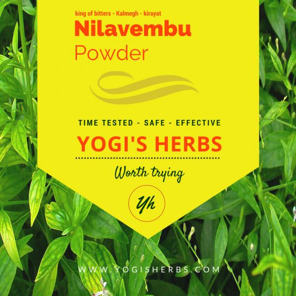 Nilavembu Powder ( Andrographis paniculata / Kirayat ) - Fresh & pure 1