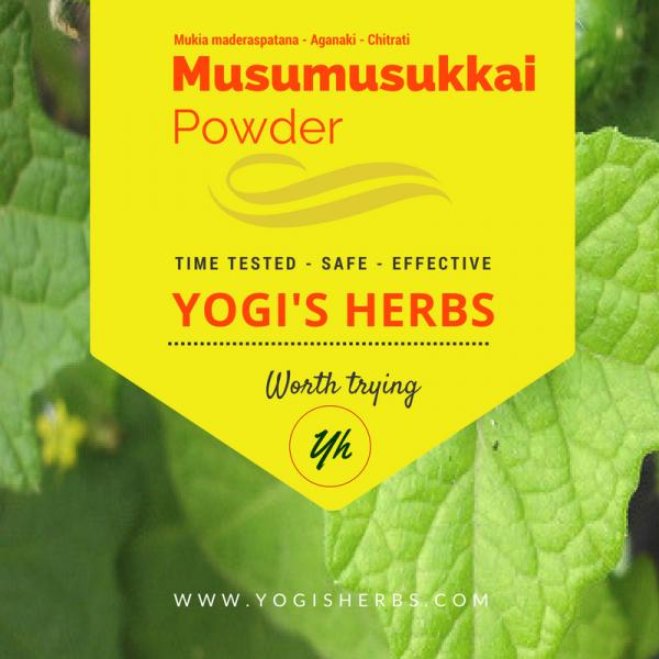 Musumusukkai Powder (Mukia maderaspatana) Fresh n Pure 1