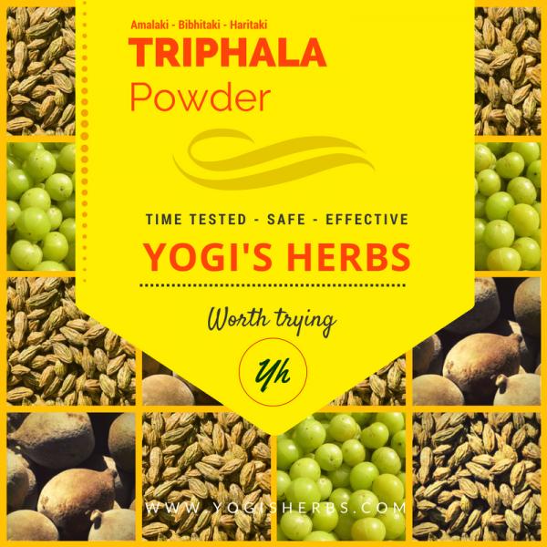 Triphala Powder - Fresh & Pure 1