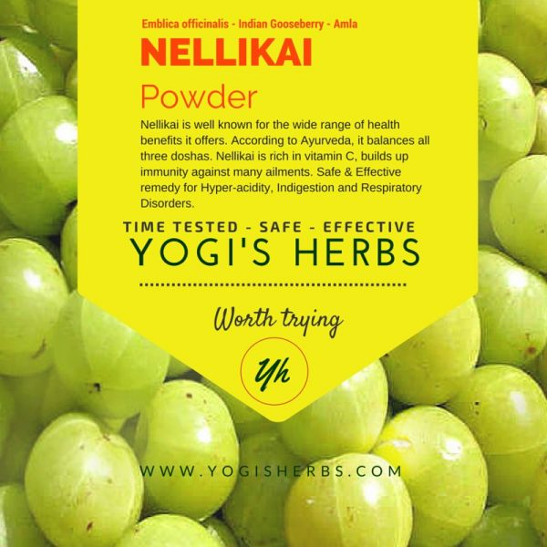 NELLIKAI Powder (Amla /Indian gooseberry)  - Fresh & Pure -100g 1