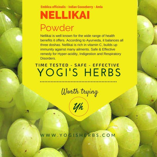 NELLIKAI Powder (Amla /Indian gooseberry) - Fresh & Pure -100g 1