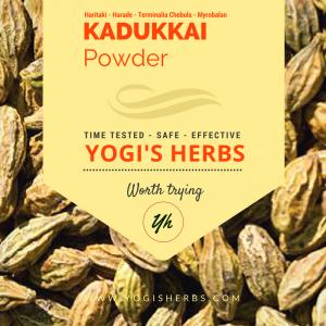 Kadukkai Powder ( Haritaki / Terminalia Chebula ) - 200g 2