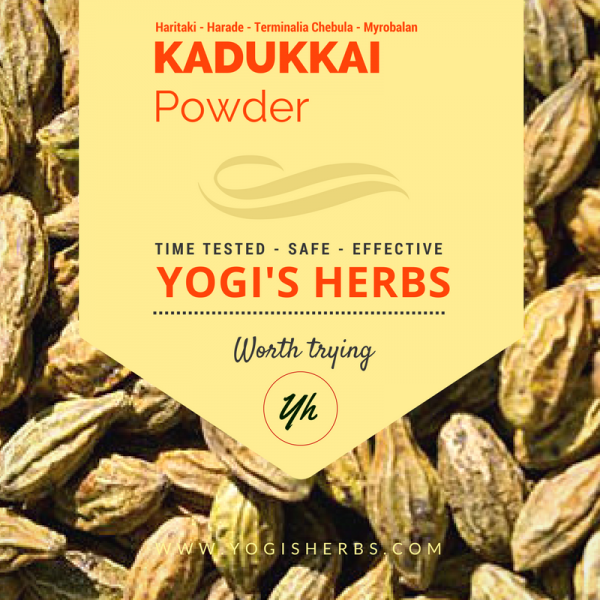 Kadukkai Powder ( Haritaki / Terminalia Chebula ) - 200g 1
