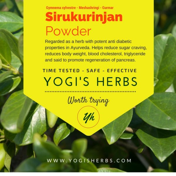 Sirukurinjan Powder - Fresh & Pure 1