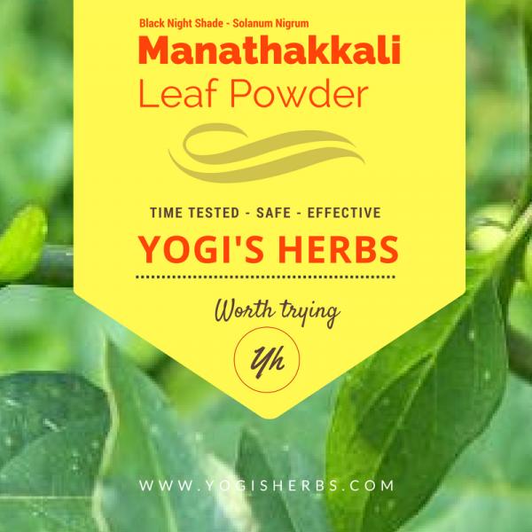 Manathakkali Leaf Powder -Fresh & Pure 1