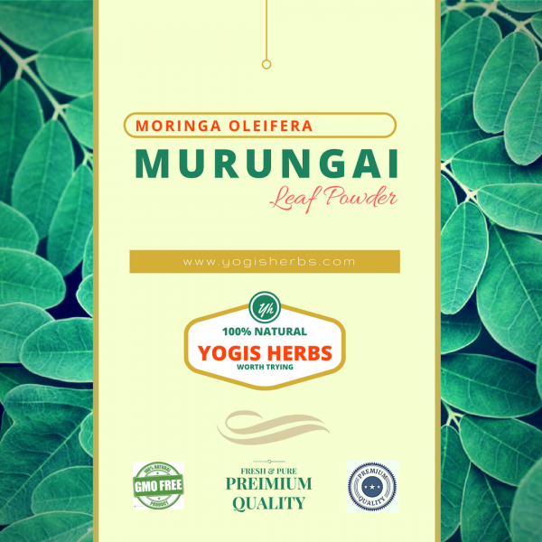 Organic Murungai Leaf Powder - ( Moringa Oleifera / Drumstick ) - Fresh & Pure 1