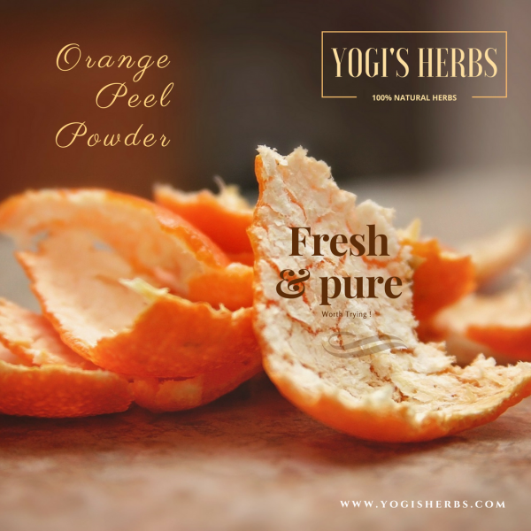 Orange Peel Powder - 200g Fresh & Pure 1
