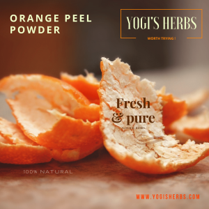 Orange Peel Powder - 200g Fresh & Pure 2