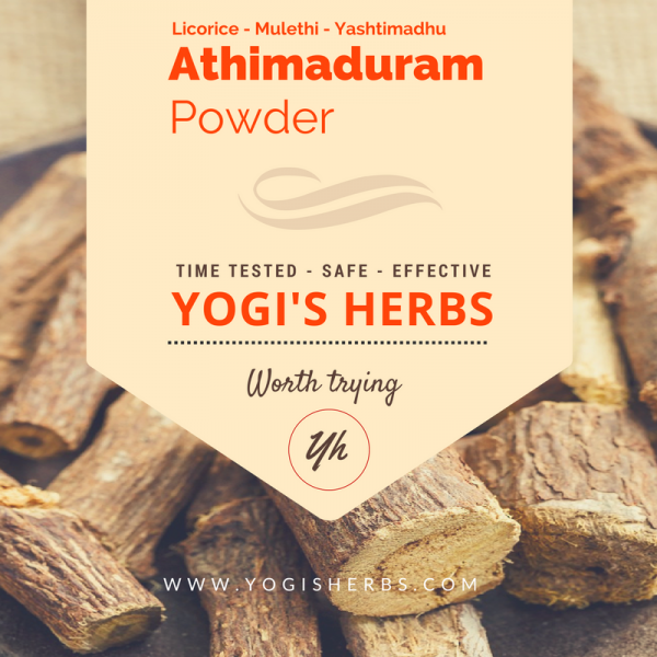 Athimaduram Powder ( Glycyrrhiza glabra / Mulhathi / Yashtimadhu / licorice root) 1