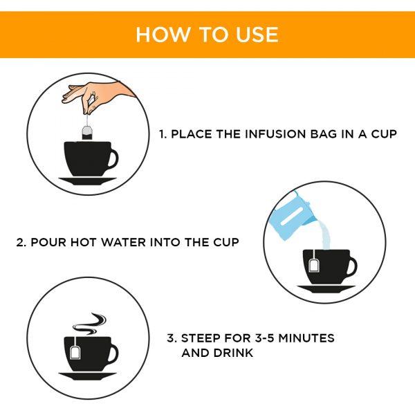 MURUNGAI Tea / Instant Kashayam (Moringa Oleifera) – Herbal Infusion – 20 Dip Bags 2